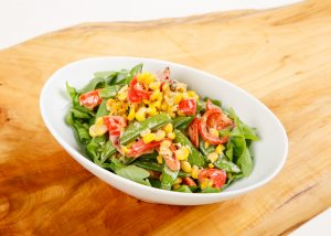 Corn and Sugar Snap Salad