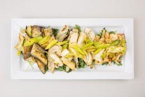 Roasted Mediterranean Veg Salad