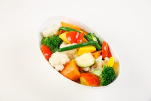 Steamed Medley of Vegetables
