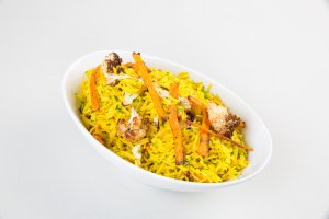 Basmati and Roasted Root Vegetable Pilaf