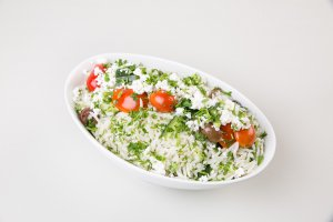 Greek Style Rice Salad