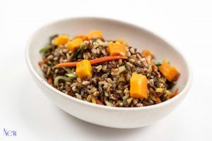 Ruby Rice and Squash