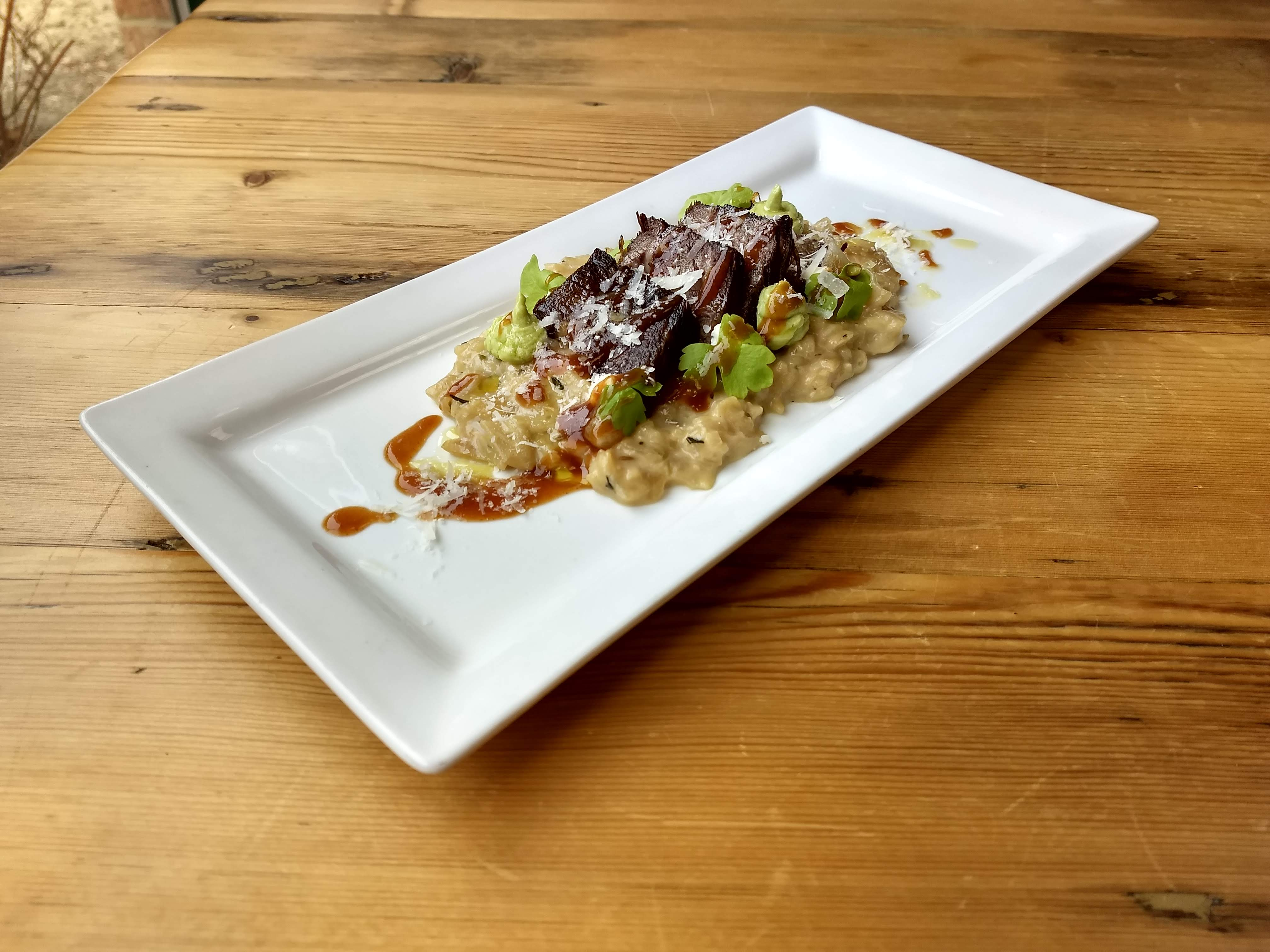 Red Wine Risotto with Braised Beef ... - Touring and Tasting